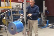 Portable Roll Lifter